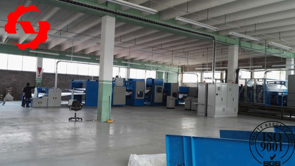 2m Geotextile Production Line For Polypropylene Non Woven Fabric Making